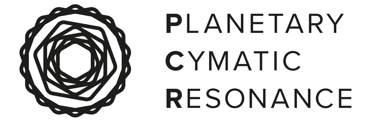 Planetary Cymatic Resonance Logo